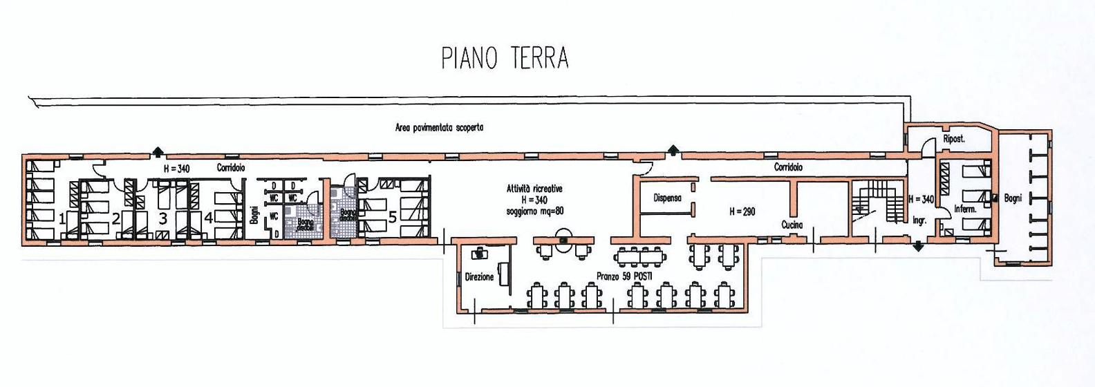 Piano terra casa alpina cabrini bresciani for Piano casa piano terra